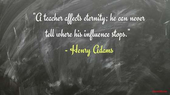henry adams quote on teaching