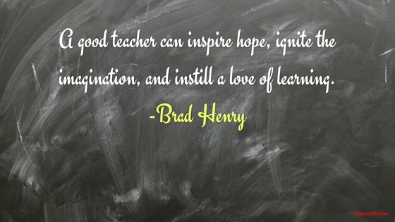 brad henry quote on teaching