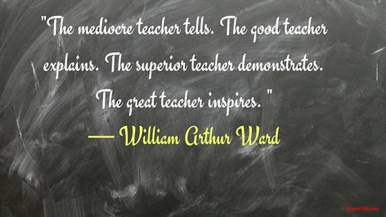 william arthur ward quote on teaching