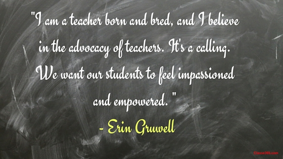 erin gruwell quote about teaching